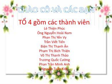 Bài giảng Ngữ văn lớp 10 - Đọc văn: Trao duyên (Trích Truyện Kiều - Nguyễn Du) - Lê Thiên Phúc