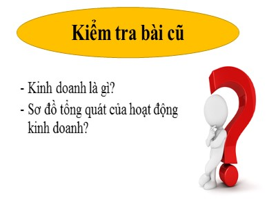 Bài giảng Công nghệ lớp 10 - Bài 50: Doanh nghiệp và hoạt động kinh doanh của doanh nghiệp (Tiết 1) - Nguyễn Thị Đượm
