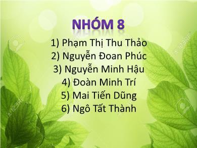 Bài giảng Công nghệ lớp 12 - Bài 20: Máy thu hình - Phạm Thị Thu Thảo