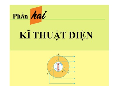 Bài giảng Công nghệ lớp 12 - Bài 25: Máy điện xoay chiều ba pha - Máy biến áp ba pha