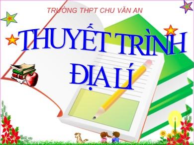 Bài giảng Địa lí lớp 11 - Bài 11, Tiết 2: Kinh tế Đông Nam Á - Nguyễn Thị Thương Thương