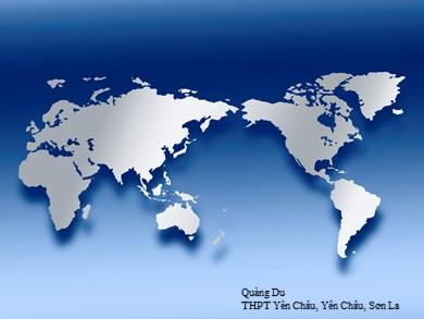 Bài giảng Địa lí lớp 11 - Bài 12, Tiết 2: Thực hành: Tìm hiểu về dân cư Ô-xtrây-li-a