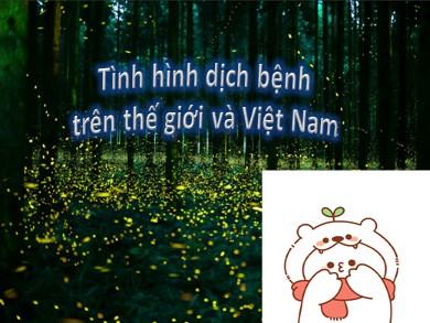 Bài giảng Giáo dục công dân lớp 10 - Chủ đề: Tình hình dịch bệnh trên thế giới và Việt Nam