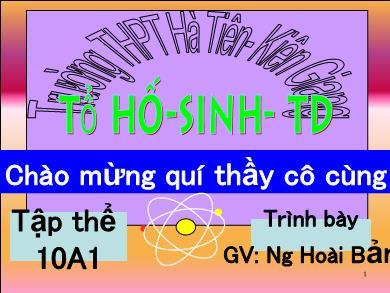 Bài giảng Hóa học lớp 10 - Bài 33: Axit sunfit - Muối sunfat - Nguyễn Hoài Bản