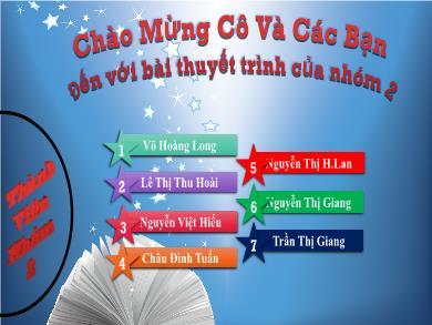 Bài giảng Hóa học lớp 10 - Bài 9: Luyện tập Clo - Võ Hoàng Long