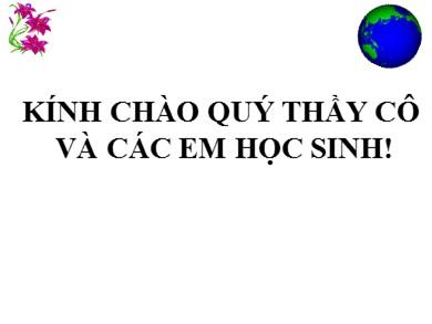 Bài giảng môn Địa lí lớp 11 - Tiết 26, Bài 10: Cộng hòa nhân dân Trung Hoa