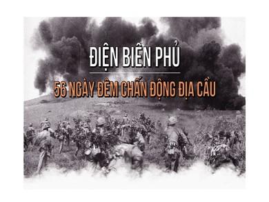 Bài giảng môn Lịch sử lớp 12 - Chủ đề: Chiến thắng Điện Biên Phủ